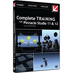 Class on Demand: Complete Training for Pinnacle Studio 11 and 12: Pinnacle Educational Tutorial Training DVD