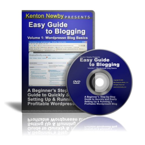 Easy Guide to Blogging (vol.1 ) - Wordpress Blog Basics