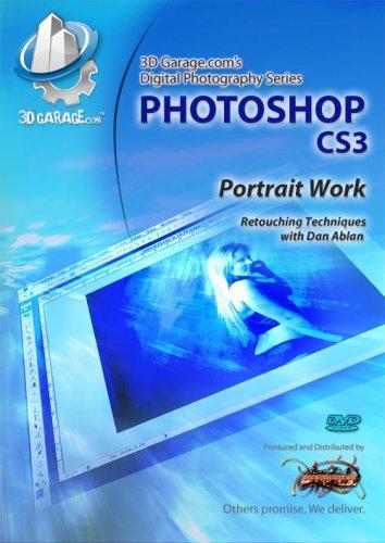 3D GARAGE Photoshop CS3 Portrait Work