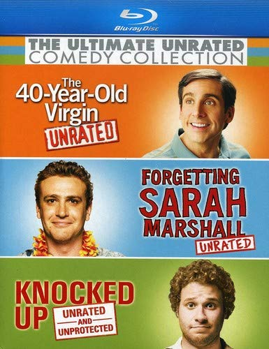 Ultimate Unrated Comedy Collection (Forgetting Sarah Marshall / Knocked Up / The 40-Year-Old Virgin) [Blu-ray]