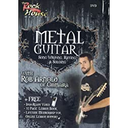 Metal Guitar Song Writing, Riffing & Soloing