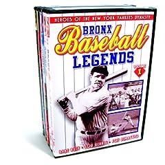 Baseball - New York Baseball Collection (Bronx Baseball Legends, Volumes 1 & 2 / Dem Bums: History of the Brooklyn Dodgers / Baseball Dynasty: The History ... Yankees / The Jackie Robinson Story) (5-DVD)