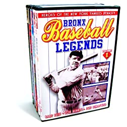 Baseball - New York Baseball Collection (Bronx Baseball Legends, Volumes 1 & 2 / Dem Bums: History of the Brooklyn Dodgers / Baseball Dynasty: The History ... Yankees / The Jackie Robinson Story) (5-DVD)