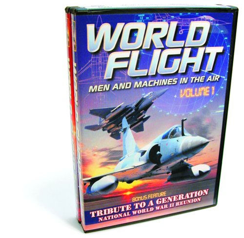 Aviation - World Flight - Volumes 1 & 2 (Spy Power - Fighter 2000 / Bosnian Air War / Air Force Special Operations / Choppers Over Europe) (2-DVD)