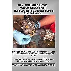 ATV and Quad Basic Maintenance DVD