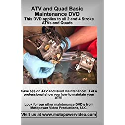ATV and Quad Basic Maintenance DVD