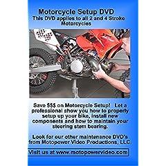 Motorcycle Setup DVD