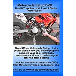 Motorcycle Setup DVD