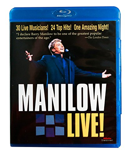 Manilow Live [Blu-ray]
