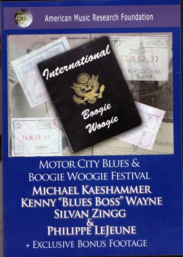 International Boogie Woogie: Motor City Blues & Boogie Woogie Festival