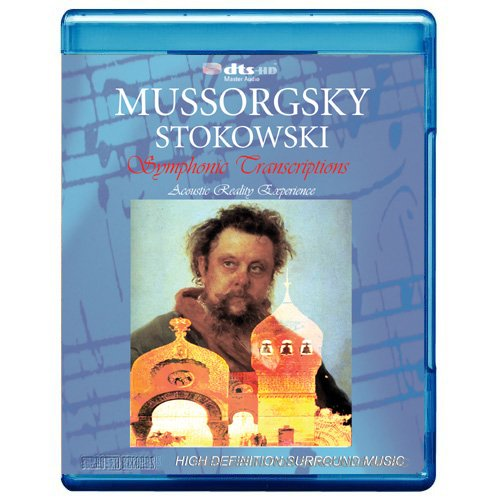 MUSSORGSKY: Pictures at an Exhibition / Boris Godunov/ Night on Bare Mountain (Stokowski Transcriptions) - Acoustic Reality Experience [7.1 DTS-HD Master Audio Disc] [Blu-ray]