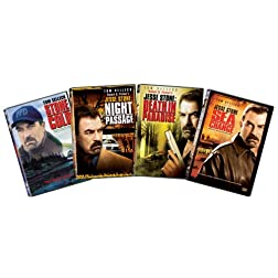Jesse Stone 4-pack DVD Bundle (Stone Cold / Night Passage / Death in Paradise / Sea Change)