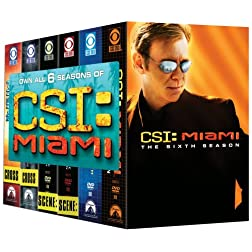 C.S.I. Miami - Seasons 1-6
