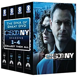 CSI: NY - 4 Season Pack