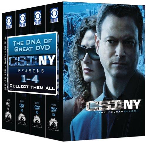 CSI: NY - 4 Season Pack