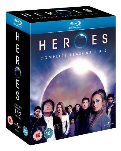 Heroes-Season 1-2 [Blu-ray]