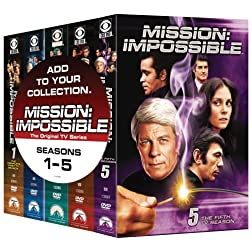 Mission Impossible: Five TV Season Pack