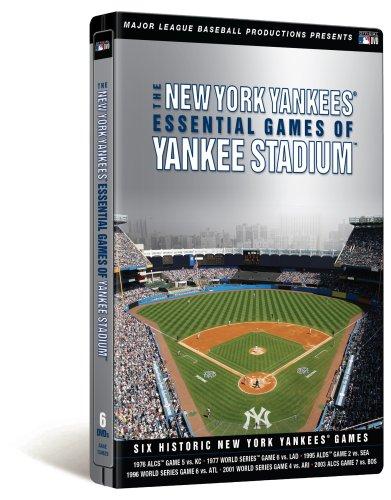 New York Yankees: Essential Games of Yankee Stadium (Steelbook)