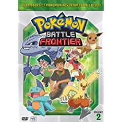 Pokemon: Battle Frontier Vol. 2 Box Set