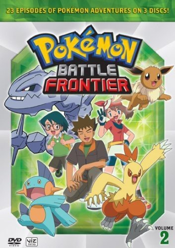 Pokemon: Battle Frontier Vol. 2 Box Set