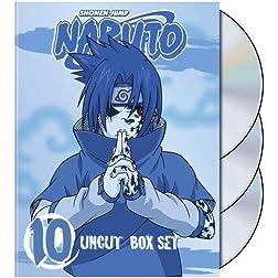 Naruto Uncut Box Set, Volume 10