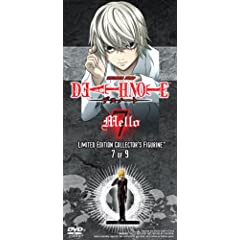 Death Note Vol. 7 with Limited Edition Mello Figurine