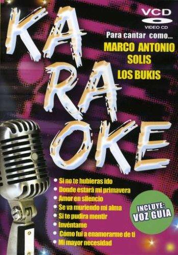Karaoke-Para Cantar Como Marco Antonio Solis Y Los