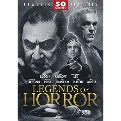 Legends of Horror 50 MoviePack