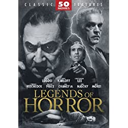Legends of Horror 50 MoviePack