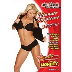 Art of Exotic Dancing: Ultimate Striptease 3 DVD Set (lapdancing, pole dancing, dance moves)