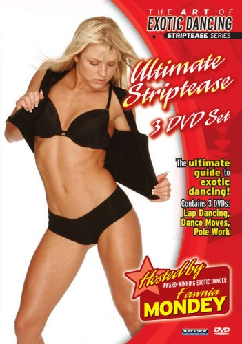 Art of Exotic Dancing: Ultimate Striptease 3 DVD Set (lapdancing, pole dancing, dance moves)