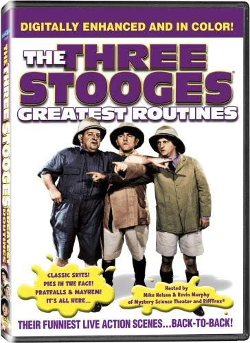 Three Stooges-Greatest Routines