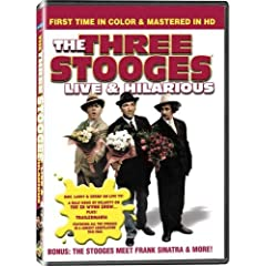 Three Stooges-Live and Hilarious