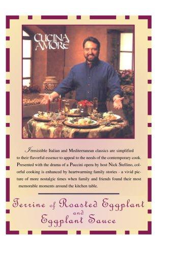 Cucina Amore: Terrine of Roasted Eggplant  & Eggplant Sauce