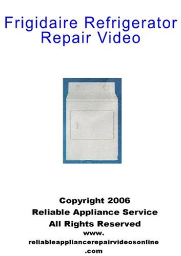 Frigidaire Refrigerator Repair Video