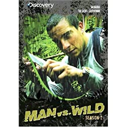 Man vs. Wild Season 2 - Sahara & Desert Survivor