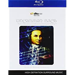 Uncommon Bach - Music Experience in 3-Dimensional Sound Reality (Transcriptions for Virtual Instruments and Modern Synthesis) [Blu-ray]