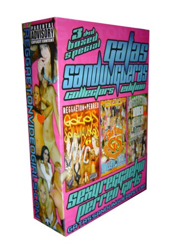 Gatas Sandungueras Reggaeton 3 DVD Boxed Set Collectors Limited Edition (Vol 4X, 6 & Greatest Hits 1)
