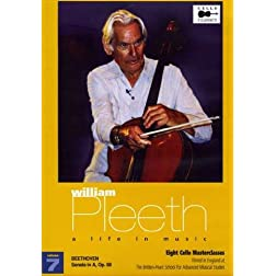 William Pleeth Masterclass - A Life In Music, Vol. 7: Beethoven - Sonata in A