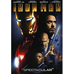 Iron Man (Single-Disc Edition)
