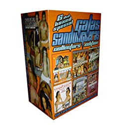 Gatas Sandungueras Reggaeton 6 DVD Boxed Set Collectors Limited Edition (Vol 4, 5, 8, 1, Reggaeton Camasutra &amp; Greatest Hits 2)