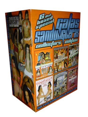 Gatas Sandungueras Reggaeton 6 DVD Boxed Set Collectors Limited Edition (Vol 4, 5, 8, 1, Reggaeton Camasutra & Greatest Hits 2)