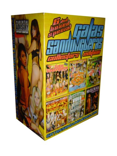 Gatas Sandungueras Reggaeton 6 DVD Boxed Set Collectors Limited Edition (Vol 9, 4X, 6, 8, Reggaeton Honeys & Greatest Hits 1)