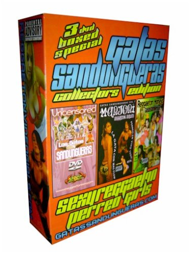Gatas Sandungueras Reggaeton 3 DVD Boxed Set Collectors Limited Edition (Vol 1, 7 & Reggaeton Honeys)