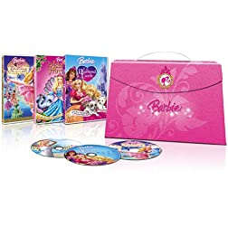 Barbie Princess Collection (Barbie & The Diamond Castle, Barbie as The Island Princess, Barbie in The 12 Dancing Princesses)