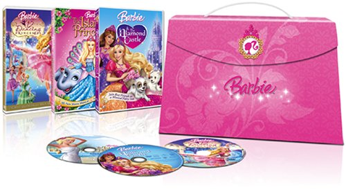 Barbie Princess Collection (Barbie & The Diamond Castle, Barbie as The Island Princess, Barbie in The 12 Dancing Princesses)