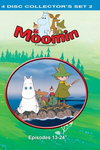 Moomin 4 disc Collector's Set 2