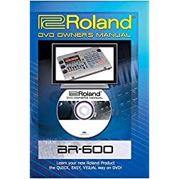 Roland (Boss) BR-600 DVD Video Tutorial Manual Help