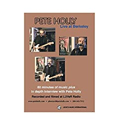 PETE HOLLY LIVE at BERKELEY