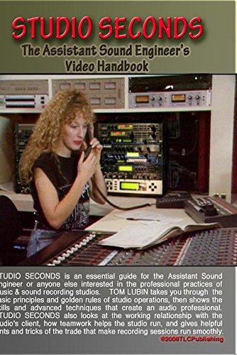 Studio Seconds- The Assistant Sound Engineers Video